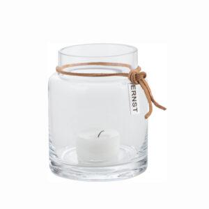 Glasvase Kerzenhalter 10cm